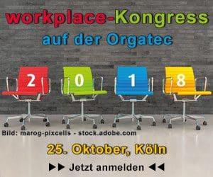 workplace-Kongress auf der orgatec @ Offenbachsaal auf der Orgatec Köln