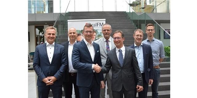 Heinrich Quaderer, Jochen Wiener, Dirk Otto, Jörg Petri, Thomas Knoepfle, Robert Paul, Danilo Schön (v.l.).