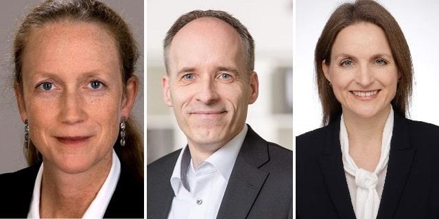 Dr. Britta Giesen, Frank Lubnau, Anna Hellweg, ISS Deutschland