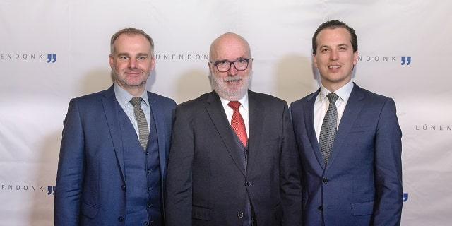 Jörg Hossenfelder, Thomas Lünendonk, Jonas Lünendonk (v.l.)