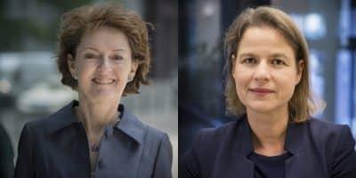 Judith Gabler und Sabine Georgi. RICS: Bild: D. Esswein