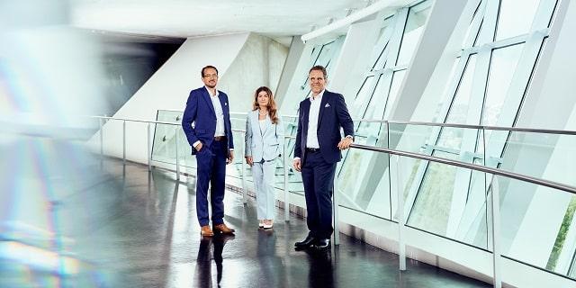Steffen Szeidl, Izabela Danner, Dierk Mutschler (v. l.). Bild: Drees & Sommer SE