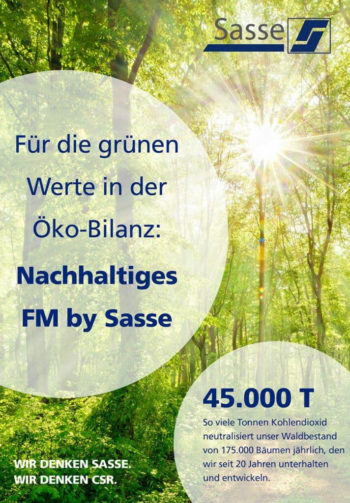 Öko-Bilanz Sasse